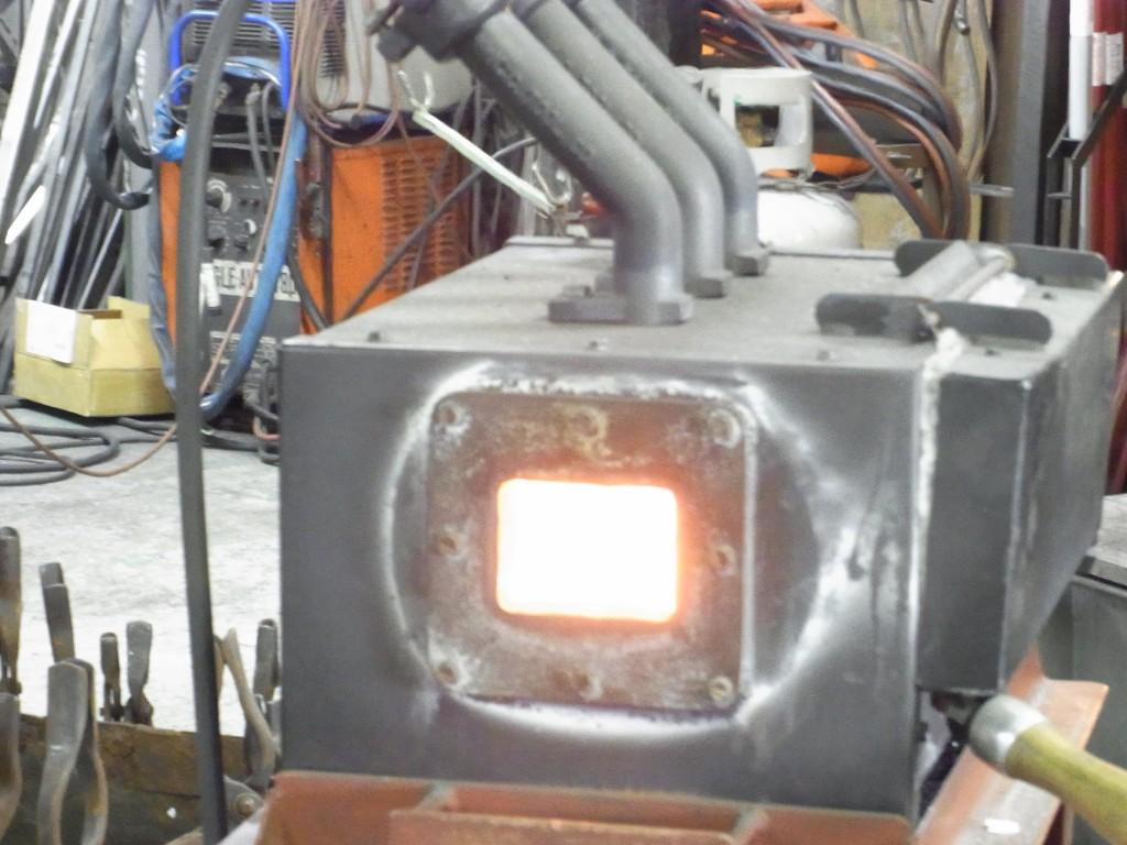 ロートアイアンの炉