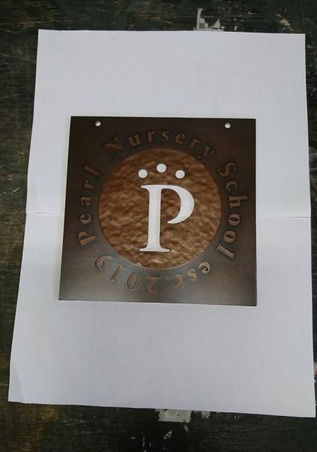 銅製サイン