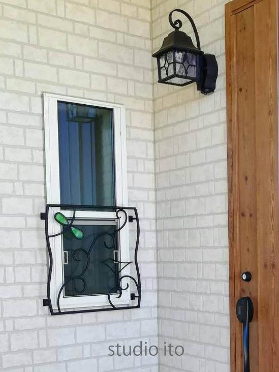 スライド窓用窓格子